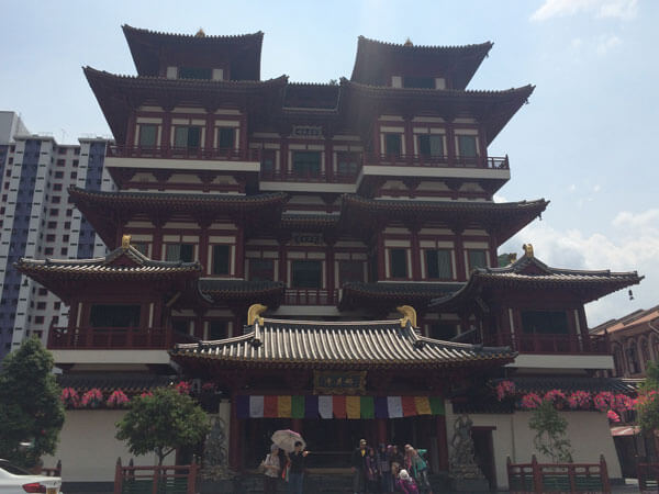 Buddha Tooth Relic Temple und Museum (Zahntempel)