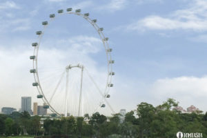 Singapore Flyer by Day - Singapur Riesenrad TOMTASIA