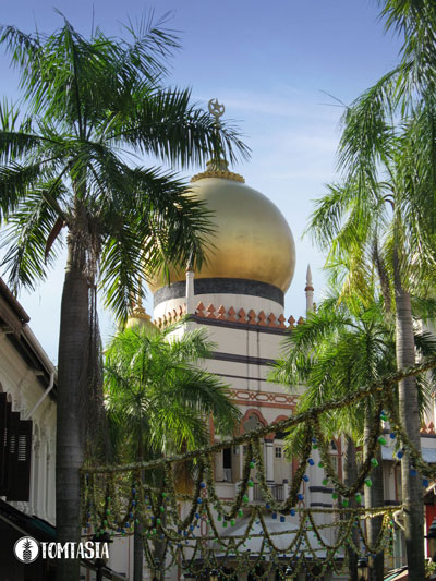 Sultan Moschee | Masjid Sultan | Kampong Glam | Singapur | Singapore | TOMTASIA